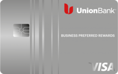 Union Bank® Business Preferred™ Rewards Visa® Credit Card