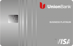 Union Bank® Business Platinum™ Visa® Credit Card