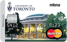 The University of Toronto Alumni MBNA Rewards Mastercard®
