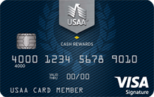 USAA Cash Rewards Visa Signature Card
