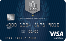 USAA Preferred Cash Rewards Visa Signature®