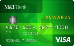 M&T Visa® Credit Card with Rewards