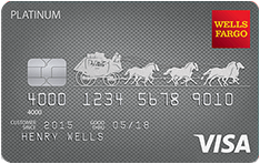 Wells Fargo Platinum Visa