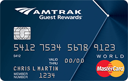 Amtrak Guest Rewards® World Mastercard®