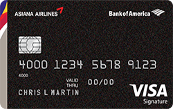 Asiana Visa Signature Credit Card