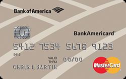 BankAmericard for Students Credit Card