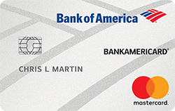 BankAmericard for Students Credit Card