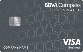 BBVA Compass Visa Business Rewards Credit Card