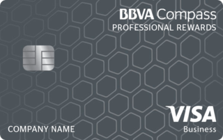 BBVA Compass Visa Professional Rewards Credit Card