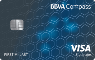 BBVA Compass Visa Signature Credit Card
