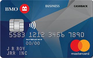 BMO CashBack® Business Mastercard®