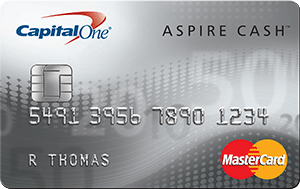 Capital One® Aspire Cash™ Platinum Mastercard®