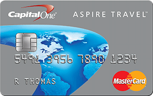 Capital One Aspire Travel Platinum MasterCard
