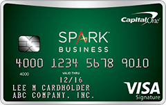 Capital One Spark Cash Select for Business