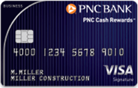 PNC Cash Rewards Visa Signature Business Credit Card