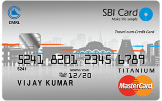Chennai Metro SBI Card