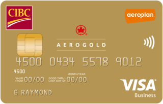 CIBC Aerogold® Visa for Business