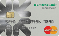 Citizens Bank Clear Value® Mastercard®