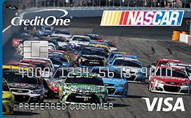 Credit One Bank Official NASCAR Visa (Average Credit)