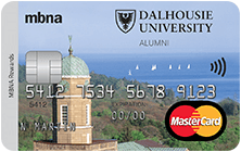 The Dalhousie University Alumni MBNA Rewards MasterCard