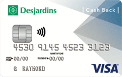 Desjardins Cash Back Visa