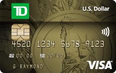 TD U.S. Dollar Visa Card