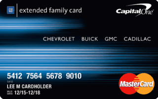 GM Extended Family Credit Card