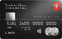 PC Financial® World Elite Mastercard®