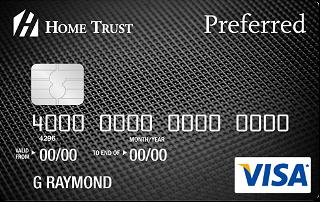 Home Trust Preferred Visa Card