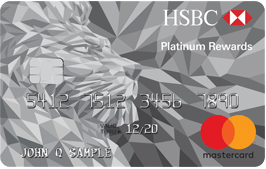 HSBC Platinum Mastercard with Rewards