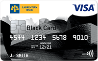 Laurentian Bank Visa Black Reward Me