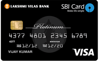 LVB SBI Platinum Credit Card