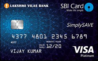 LVB SBI SimplySAVE Card