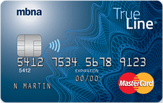 MBNA True Line MasterCard