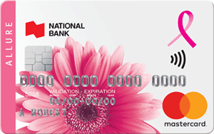 National Bank Allure Mastercard