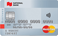 No-Fee National Bank MasterCard Business Card