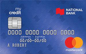 National Bank mycredit Mastercard