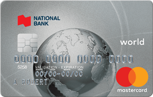 National Bank World MasterCard