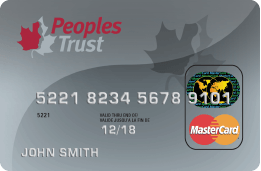 Peoples Trust Secured MasterCard