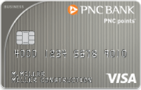 PNC points Visa Business Credit Card