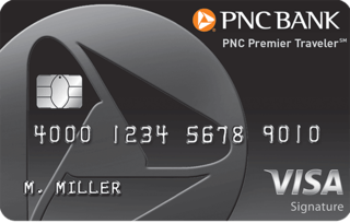 PNC Premier Traveler® Visa Signature® Credit Card
