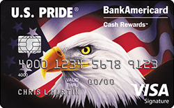 U.S. Pride BankAmericard Cash Rewards Credit Card