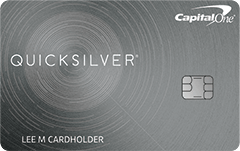 Quicksilver® from Capital One®