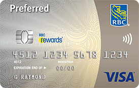 RBC Rewards Visa Preferred