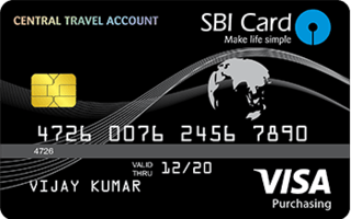 SBI Central Travel Account Card