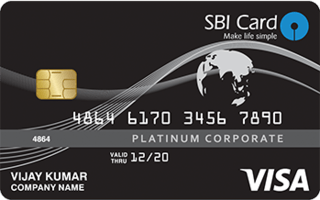 SBI Corporate Platinum Card