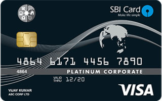SBI Corporate Utility Card