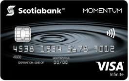Scotia Momentum® Visa Infinite Card