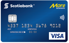 Scotiabank More Rewards Visa card