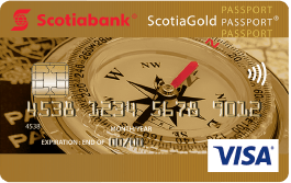 ScotiaGold Passport Visa card
